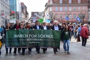 March for Science Göttingen 2018